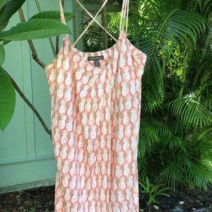 Tommy Bahama pineapple 🍍 linen dress